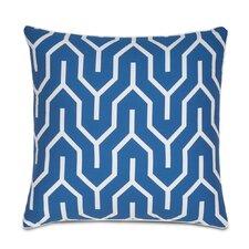 Plimpton Flame Square Decorative Cotton Throw Pillow