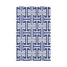 Greek Isles Geometric Print Polyester Fleece Throw Blanket
