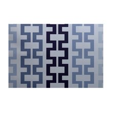 Cuff-Links Geometric Print Bewitching Outdoor Area Rug