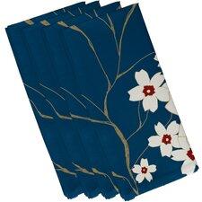 Floral Decorative Napkin (Set of 4)