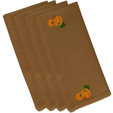 Pumpkin Patch Holiday Print Napkin