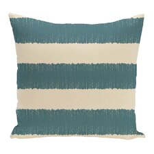 Twisted Stripe Stripe Print Throw Pillow