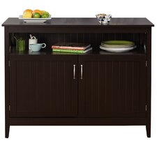 Baymont Buffet with Wooden Top