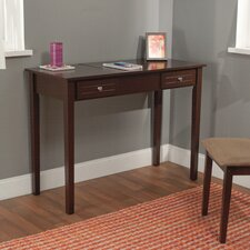Aubrey Vanity Desk with Mirror