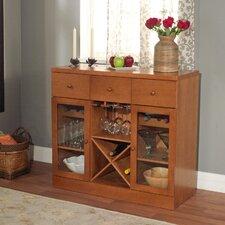Sedona Bar Cabinet with Wine Storage