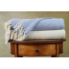 Chevron Cotton Throw Blanket
