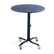 EZ-Tilt Mobile Round Folding Table