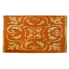 Mosaic Orange/Yellow Area Rug