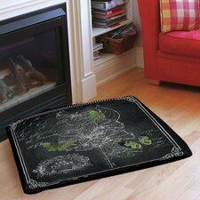 Chalkboard Botanical 2 Indoor/Outdoor Pet Bed