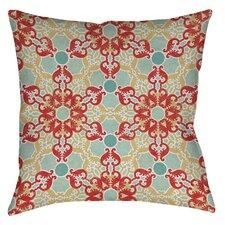 Tea House Patterns 11 Printed Throw Pillow