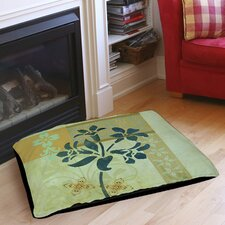 Patterned Collage Blossoms Indoor/Outdoor Pet Bed
