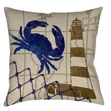 Lighthouse Printed Throw Pillow
