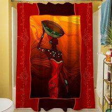 African Beauty II Shower Curtain