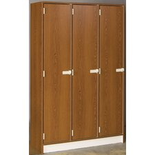 1 Tier 3 Wide Doors Locker