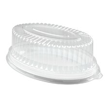 Platter Pleasers Oval Dome PET Lid (Set of 40)