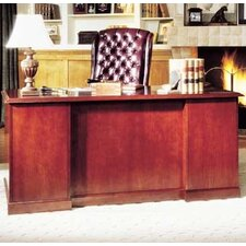 Legacy Double Pedestal Executive Desk with 2 File Drawers