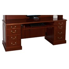 Bedford Executive Desk with Keyboard Tray