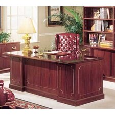 Bedford 3-Piece Standard Desk Office Suite