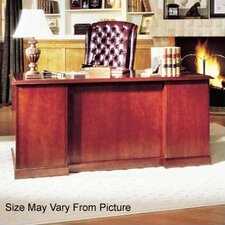 Legacy Double Pedestal Executive Desk with 2 Box Drawers