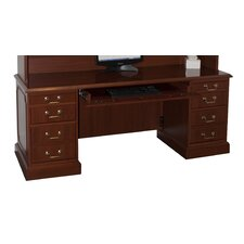 Bedford Executive Desk with 4 Right & 4 Left Drawers