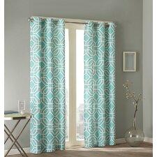 Maci Pleated Single Curtain Panel