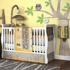 My Baby Hoo Owl 10 Piece Crib Bedding Set