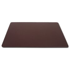1000 Series Classic Leather 17 x 14 Conference Pad in Chocolate Brown