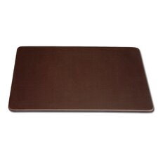 1000 Series Classic Leatherette 17 x 14 Conference Pad in Chocolate Brown