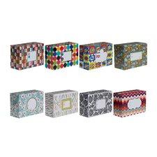 Decorative Mailing Box (8 Piece)