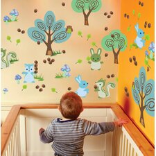 Nature Forest Friends Wall Decal