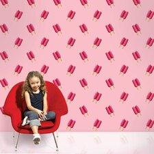 "2.17' x 26"" Twin Pops Food Beverage Wallpaper"