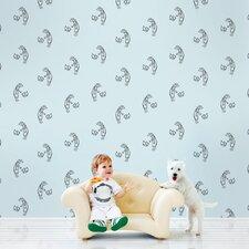 "2.17' x 26"" Fetch Figural Wallpaper"