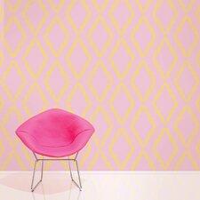 """Quatrefoil 2.17' x 26"""" Geometric Wallpaper"""