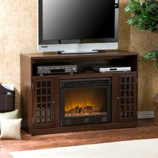 Wallacetown TV Stand with Electric Fireplace