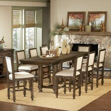 893 Series Counter Height Extendable Dining Table