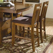 "Marcel 24"" Bar Stool with Cushion (Set of 2)"