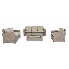 Ferrara 4 Piece Deep Seating Group with Cushions
