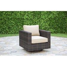South Hampton Swivel Rocking Chair with Cushions