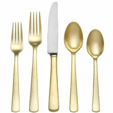 5 Piece Stainless Steel Flatware Set