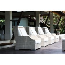 Hancock Deep Seating Chair with Cushions (Set of 4)