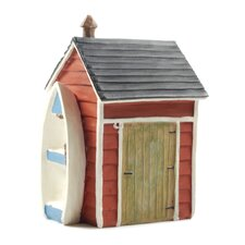 Beach Shed with Boat (Set of 4)