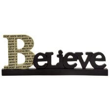 "Pray / Hope ""Believe"" Statue (Set of 4)"