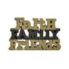 """""""Faith, Family, Friends"""" Décor"""