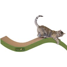Scratch 'n Shapes Giant Purrfect Stretch Recycled Paper Scratching Board