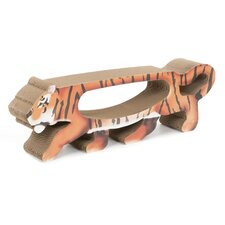 Scratch 'n Shapes Tiger Cardboard Scratching Board