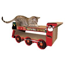 scratch n' Shapes North Pole Express Train Recycled Paper Scratching Board