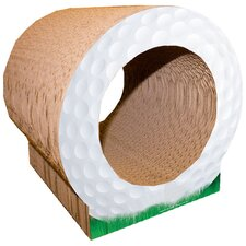 Scratch n' Shapes Golf Ball Recycled Paper Scratching Board