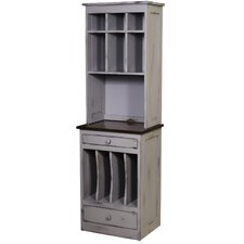 Lily Organizer 2 Drawer Chest with Hutch