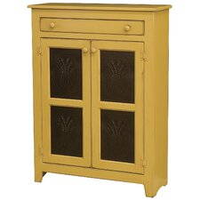 Anna 1 Drawer 2 Door Cabinet with Tins