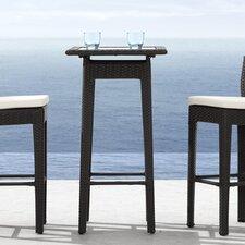 Railay Outdoor Pub Table in Dark Brown